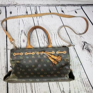 Dooney & Bourke Signature Multi color Leather Bag
